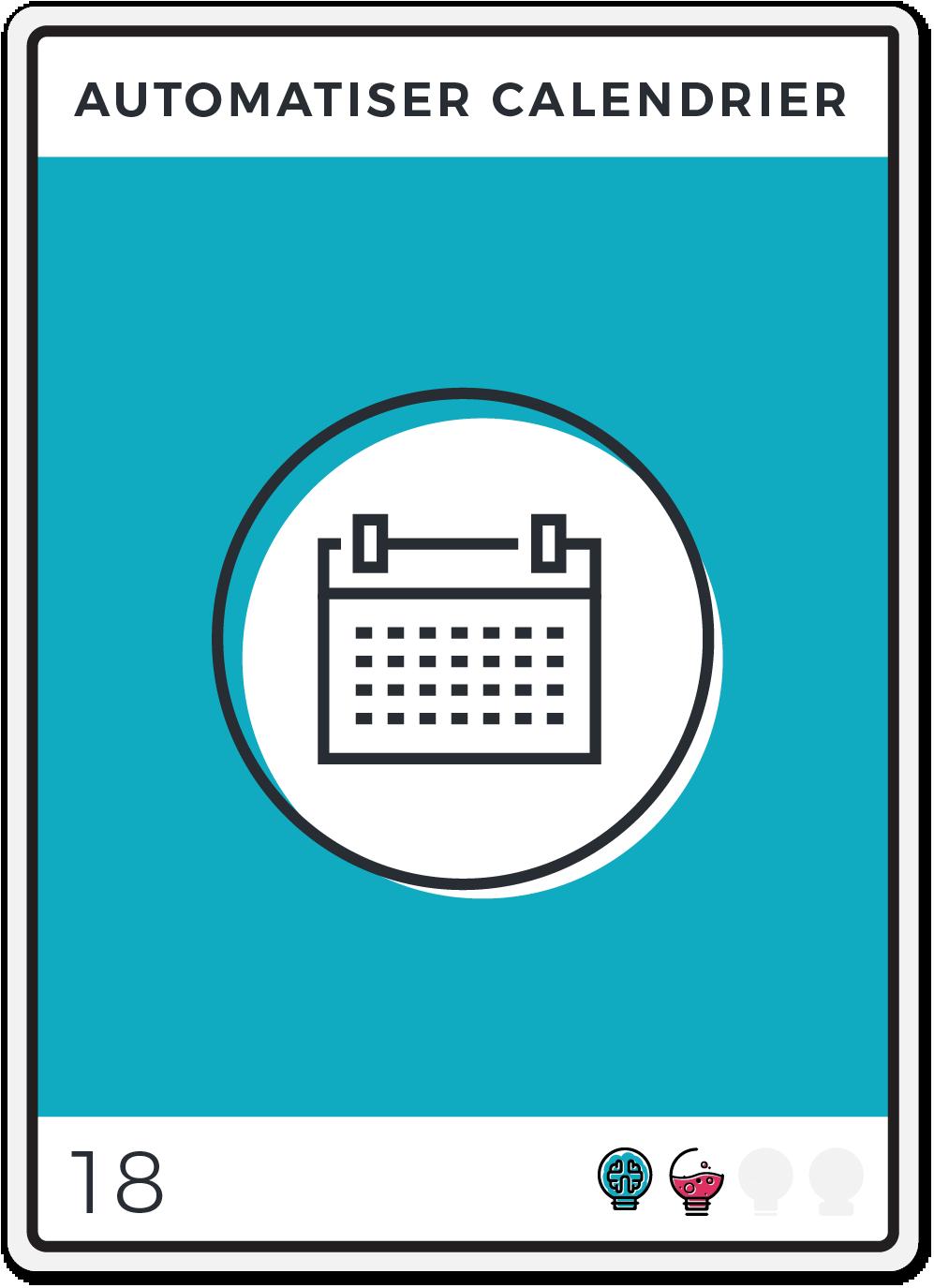 Automatiser Calendrier Vacances